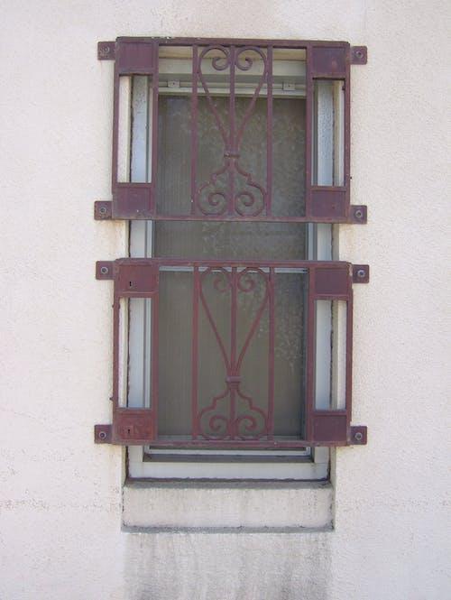 Free stock photo of abandoned building, bars, window