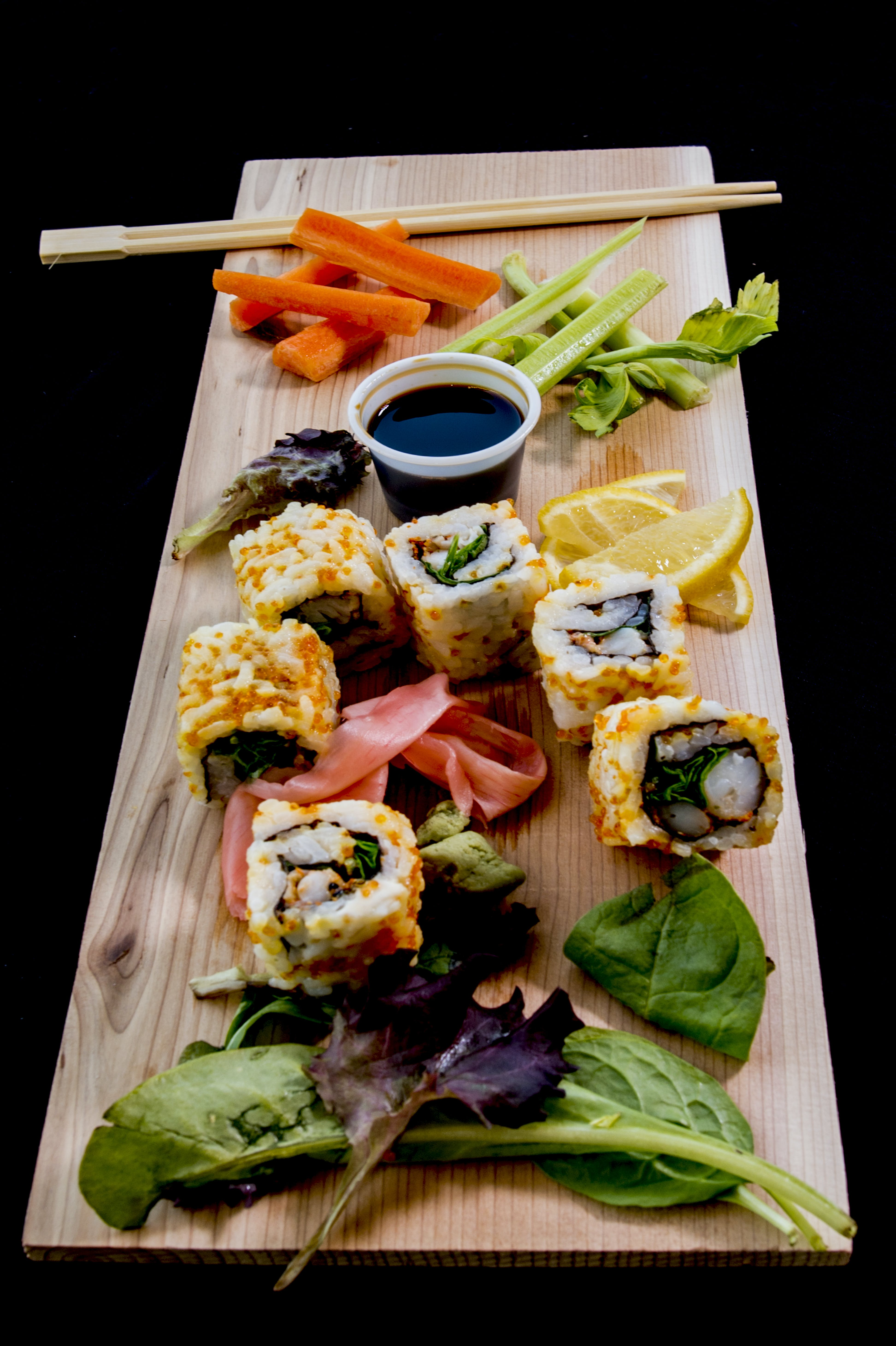 Variety of Foods With Chopsticks