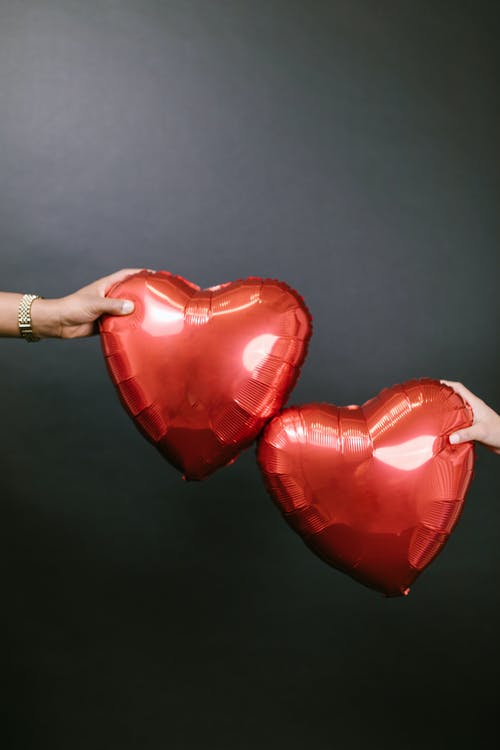 Gratis lagerfoto af balloner, gave, hjerte