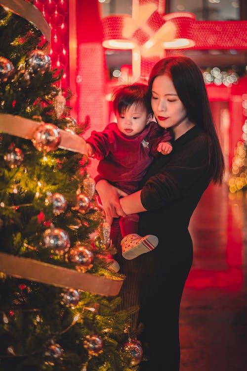 Gratis lagerfoto af barn, dekoration, familie