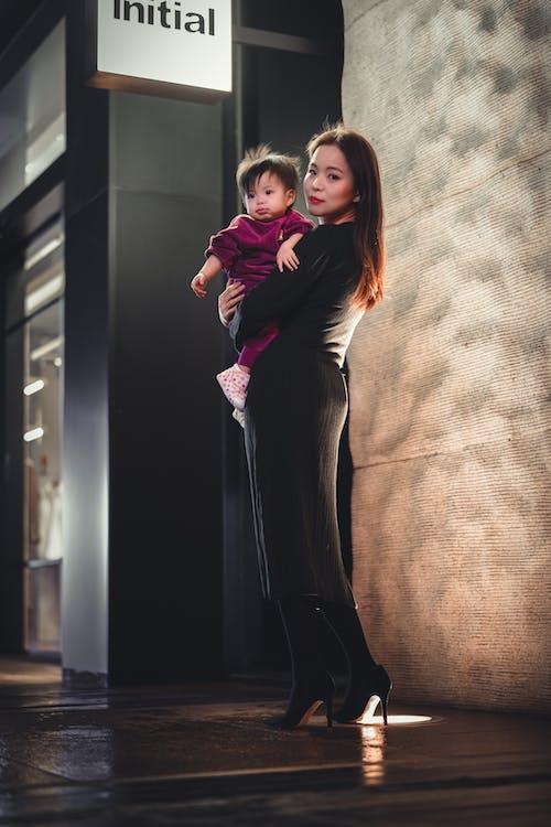 Photos gratuites de Asiatique, bébé, de plein fouet