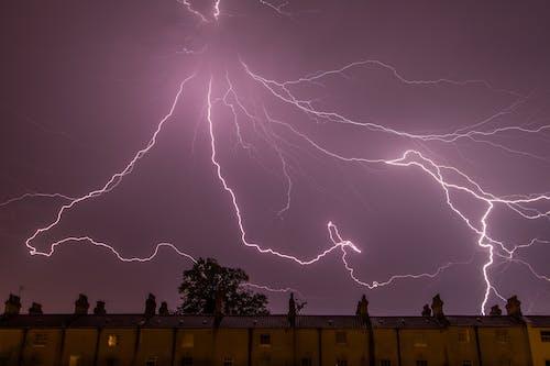 Ingyenes stockfotó ég, éjszaka, elektromos, elektromosság témában