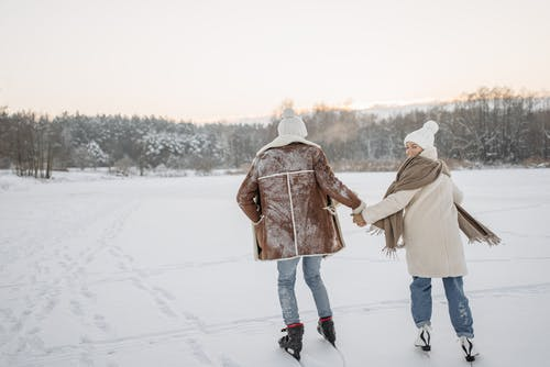 A Couple Ice Skating