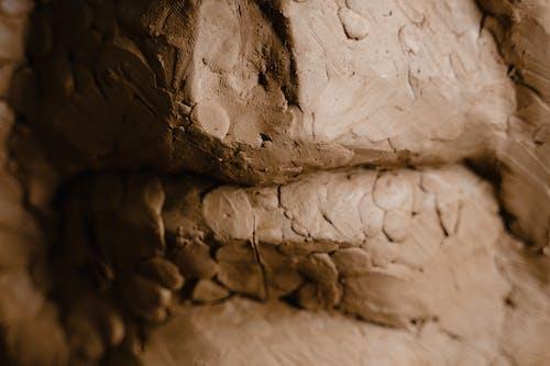 Foto profissional grátis de argila, castanho, close