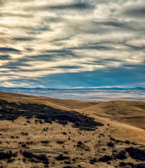 Kostenloses Stock Foto zu blauer himmel, draußen, dünen