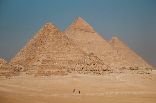 People Walking on Desert