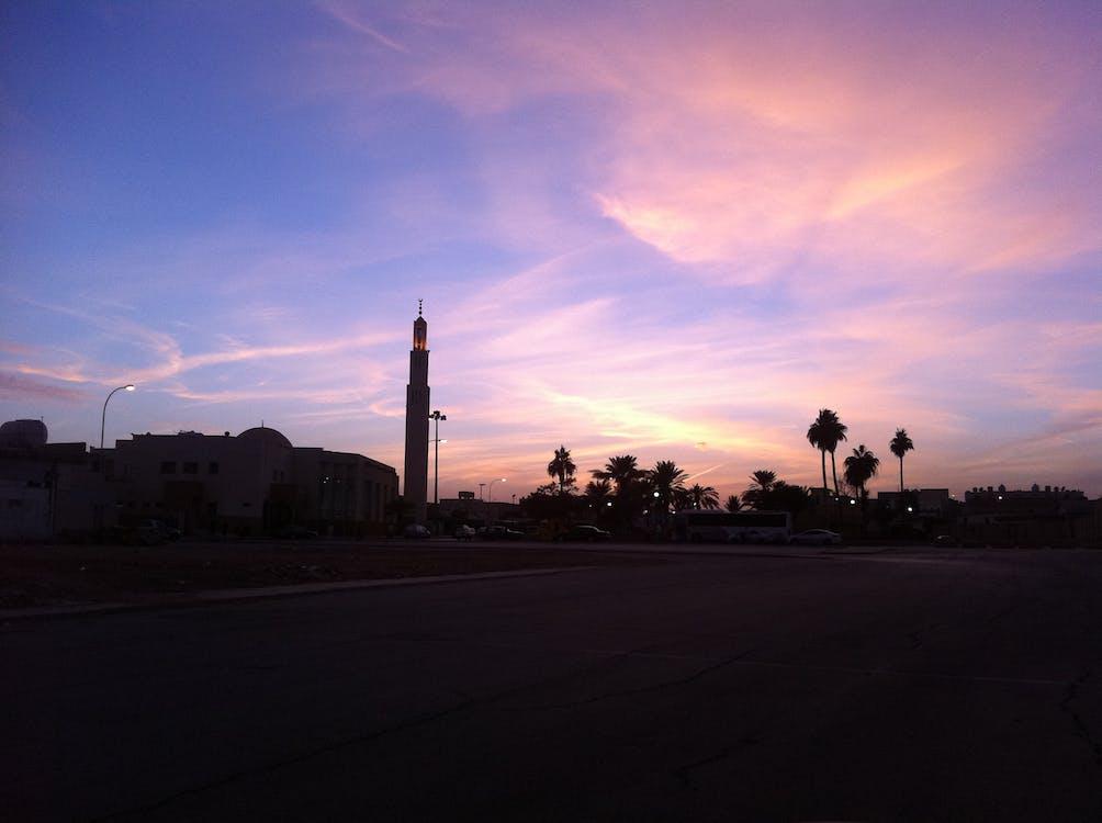 Základová fotografie zdarma na téma mešita, město, minaret