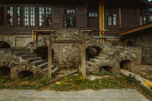 Základová fotografie zdarma na téma architektura, čerstvé barvy, dřevěný palác