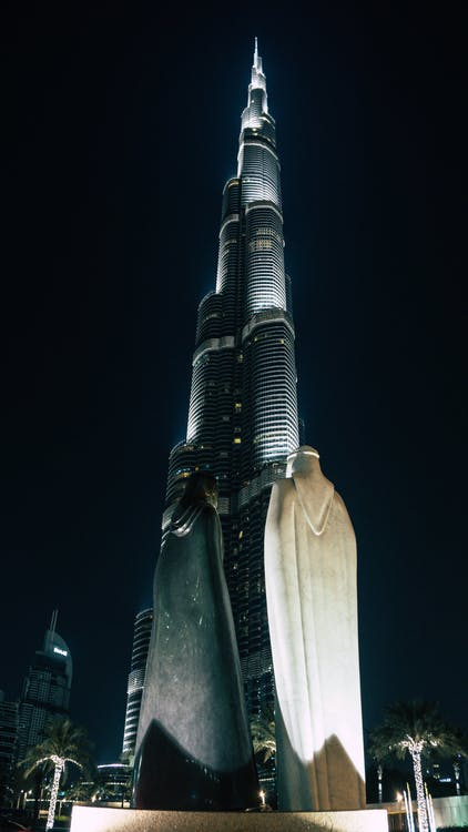 Free stock photo of building, burj khalifa, dubai
