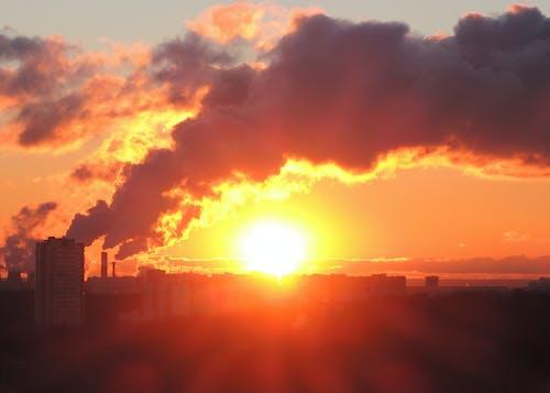 Ilmainen kuvapankkikuva tunnisteilla auringonlasku, aurinko, ekologia, ekologiaongelma