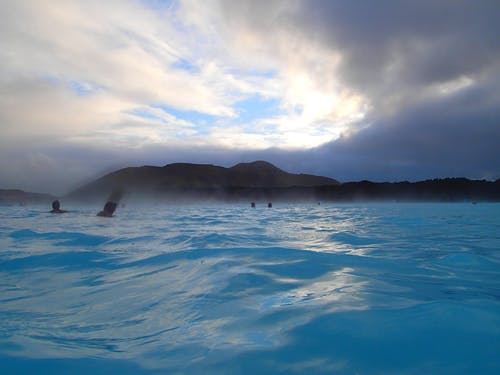 Free stock photo of blue lagoon, geothermal, hot spring