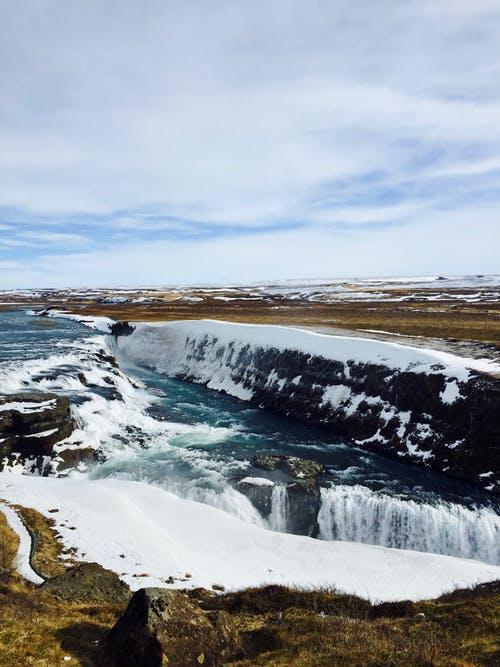 Free stock photo of falls, golden circle, iceland