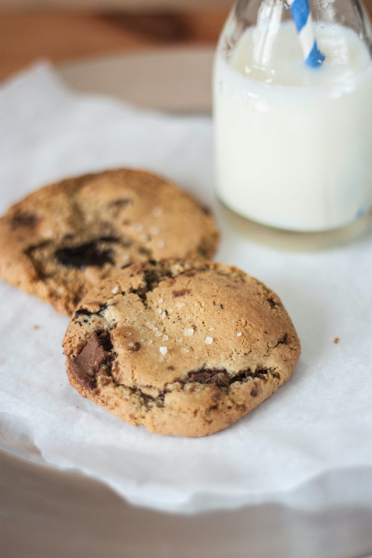 Two Baked Cookies