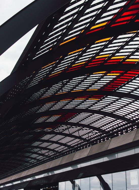 aeroporto, arquitetura, artigos de vidro