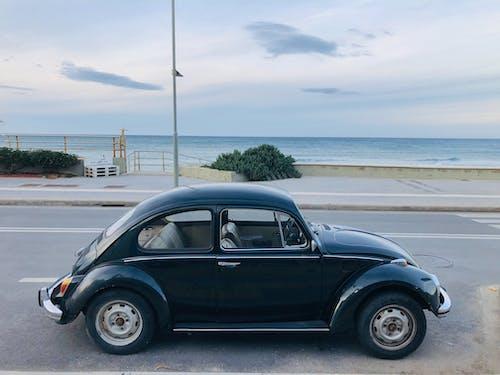 Free stock photo of asphalt, automotive, beach