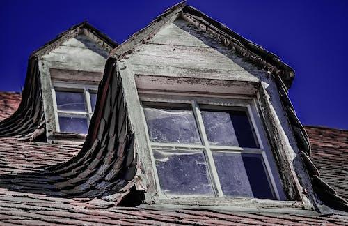 原本, 受氣候侵蝕的, 屋頂 的 免费素材图片