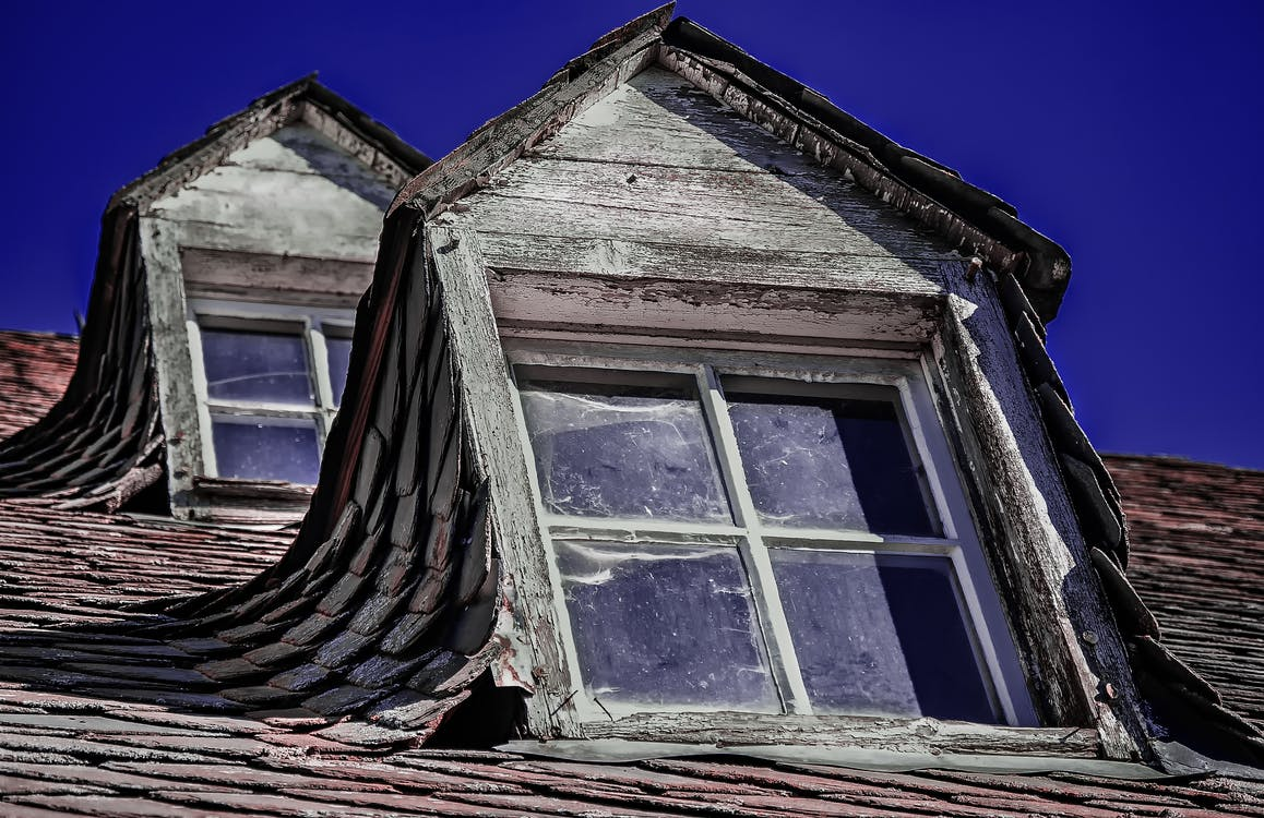 Free stock photo of architecture, old, rooftop