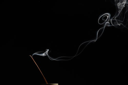 Free stock photo of creative photography, incense, smoke