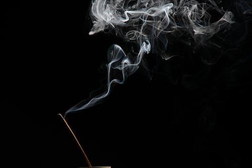 Free stock photo of colored smoke, incense, photoart