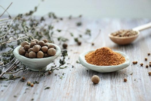 Macro Photography of Pepper Powder