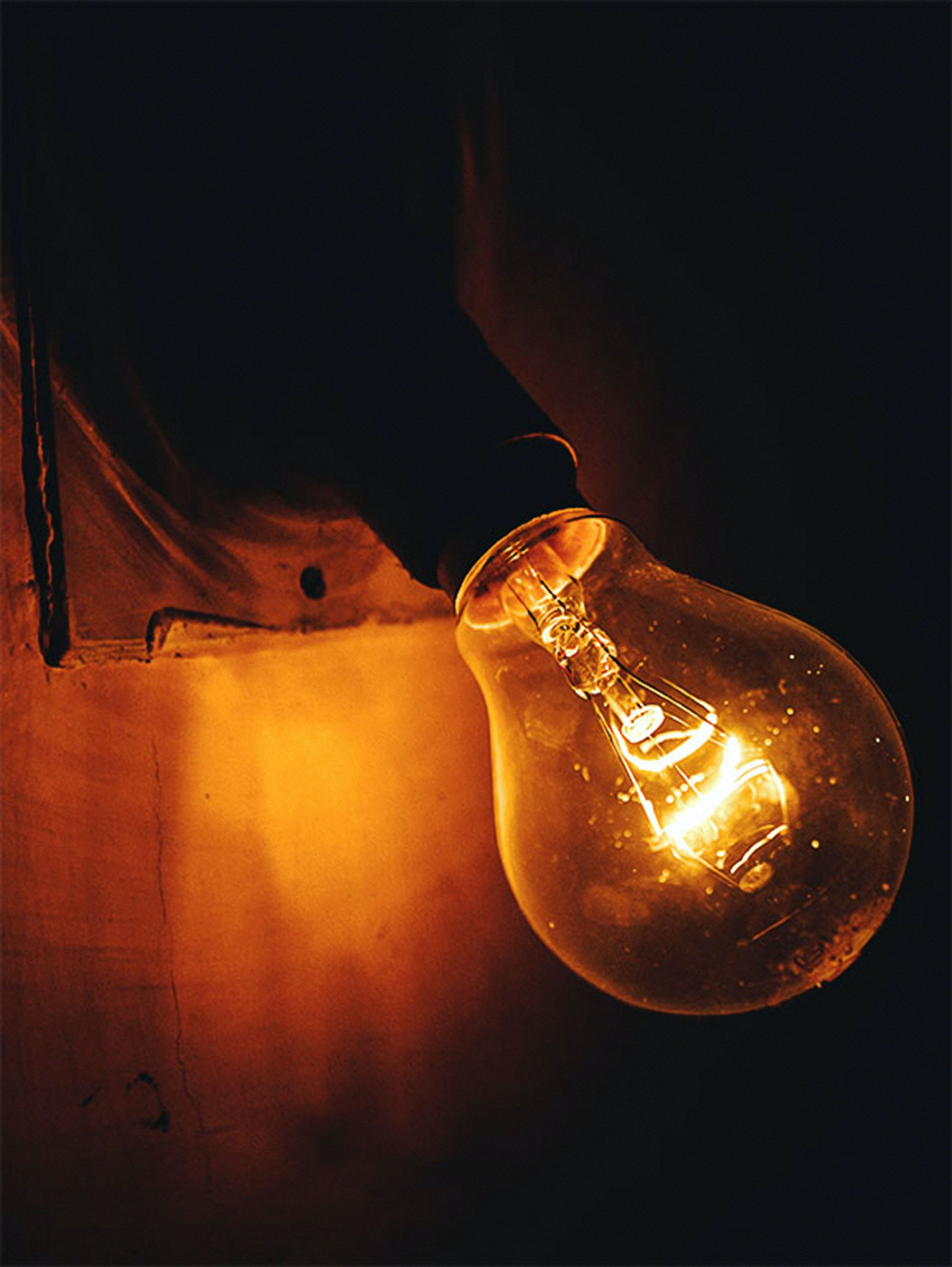 Close-up Photography of a Lightbulb