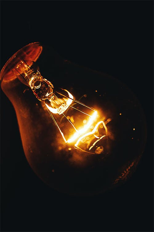 Free stock photo of bright, bulb, burnt, close up