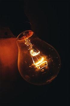 Free stock photo of light, dark, lamps, glass