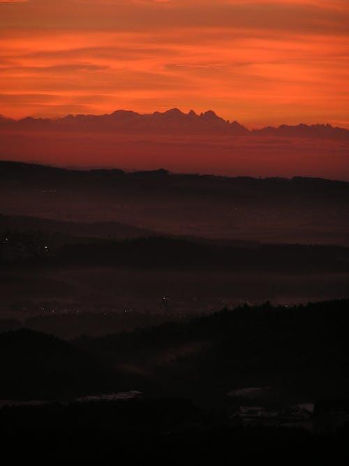 Gratis arkivbilde med fjell, himmel, horisont, landskap