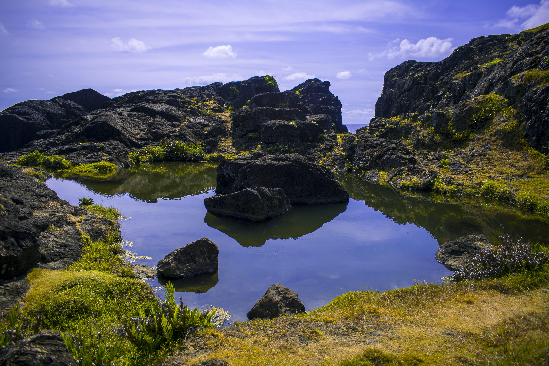 of Binurong, Catanduanes, lake, mountain