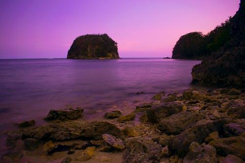 シースケープ, ビーチ, ベイ, 地平線の無料の写真素材