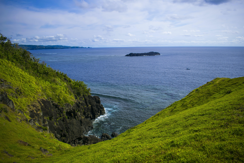 of Binurong, Catanduanes, mountain landscape, point