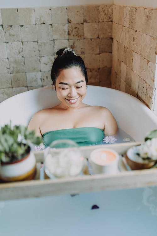 Free stock photo of adult, anxiety, bath