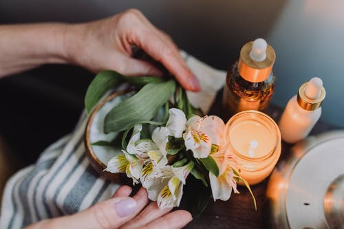 Free stock photo of adult, anxiety, aromatherapy