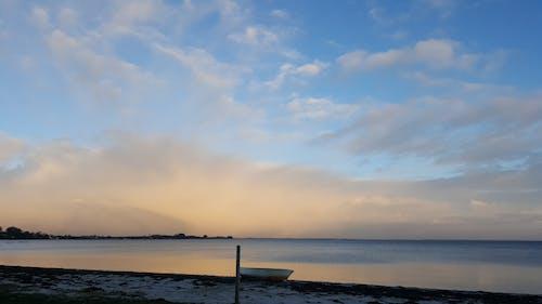日落, 晚間, 水, 海灘 的 免費圖庫相片