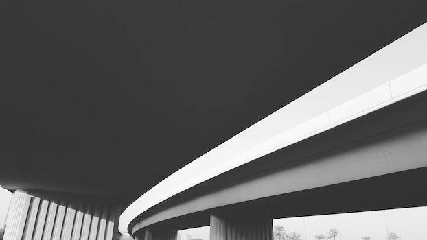 Free stock photo of light, black-and-white, city, art