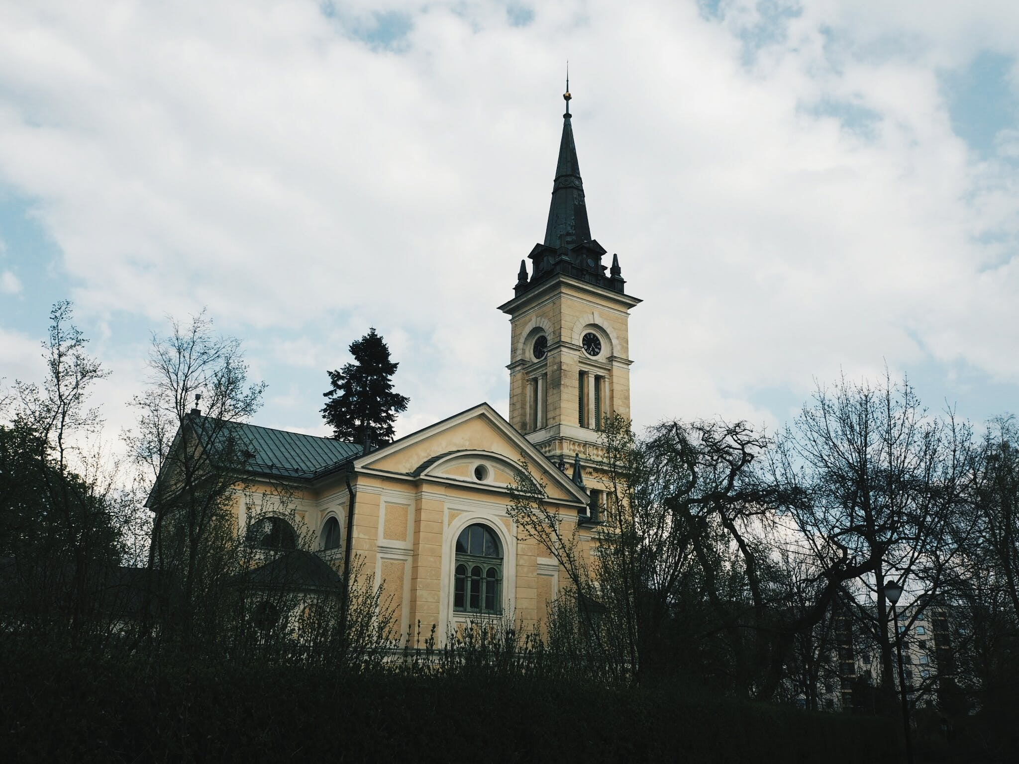 Kostenloses Stock Foto zu architektur, gebäude, himmel, kirche