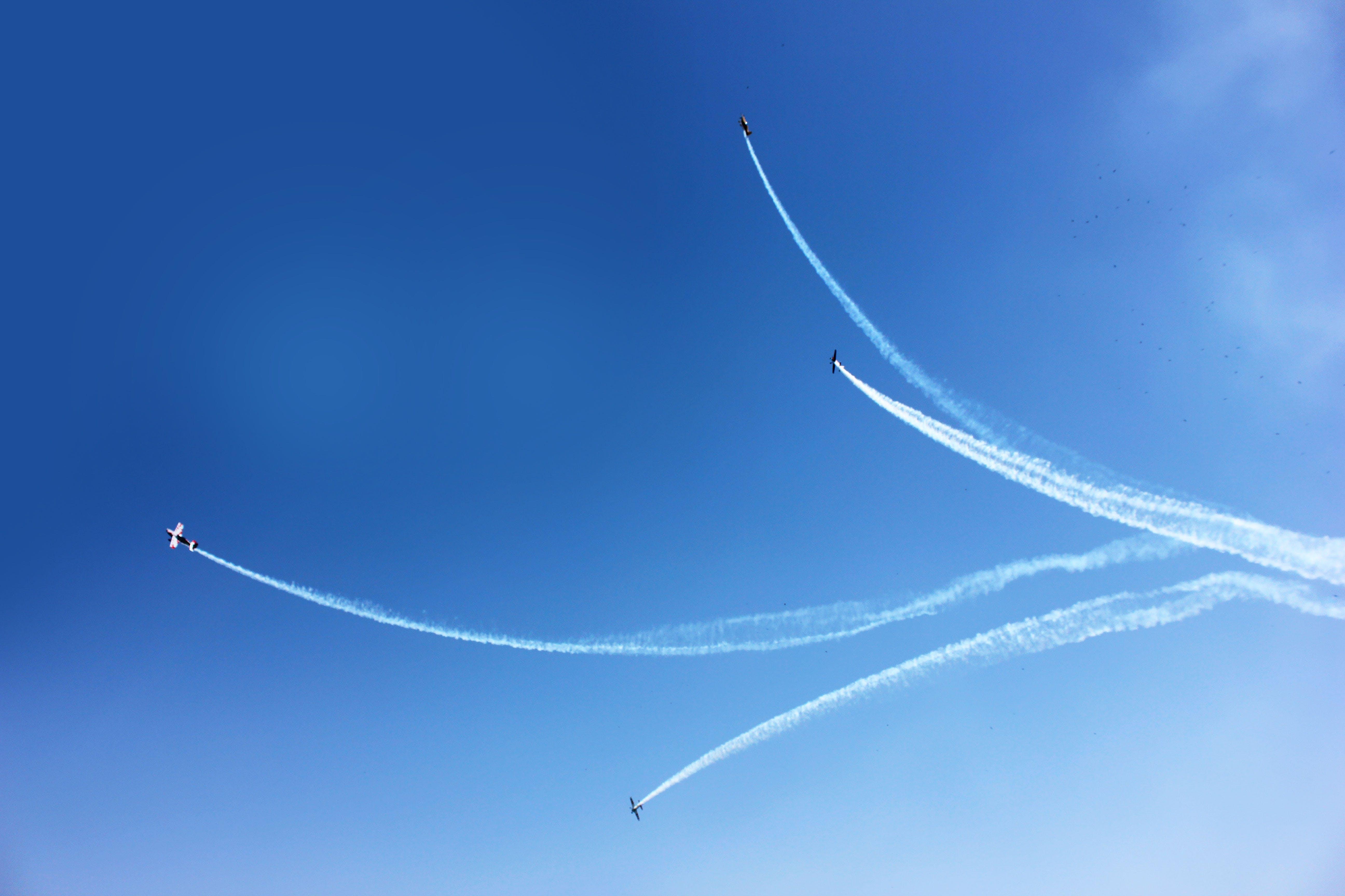 Kostenloses Stock Foto zu flug, himmel, fliegen, hoch