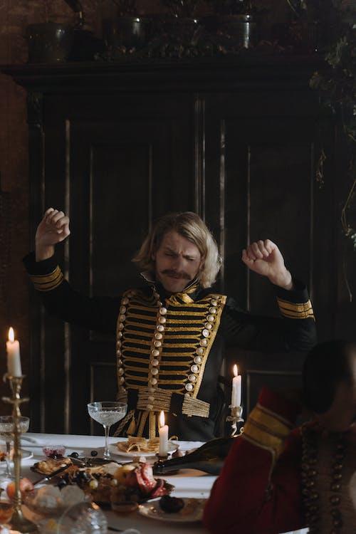 Kostenloses Stock Foto zu 19. jahrhundert, aristokrat, betrunken
