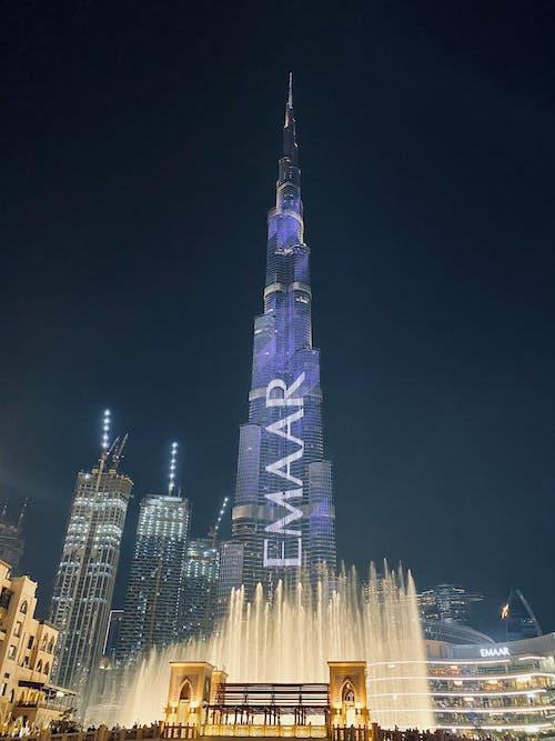 Free stock photo of architectural, burj khalifa, cityscape
