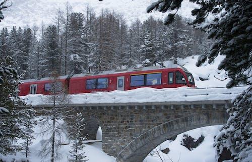 Free stock photo of bridge, cold, railway track
