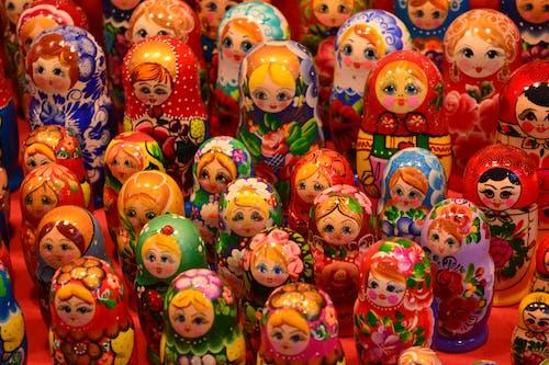 Free stock photo of matrioshka