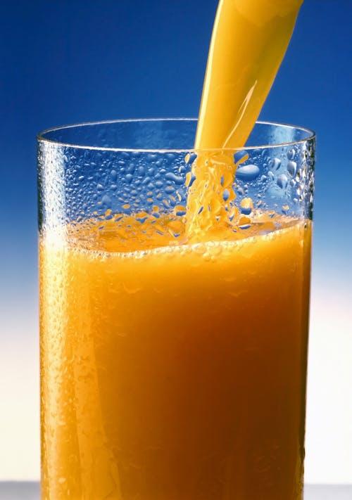Kostnadsfri bild av apelsin, apelsinjuice, dryck, glas