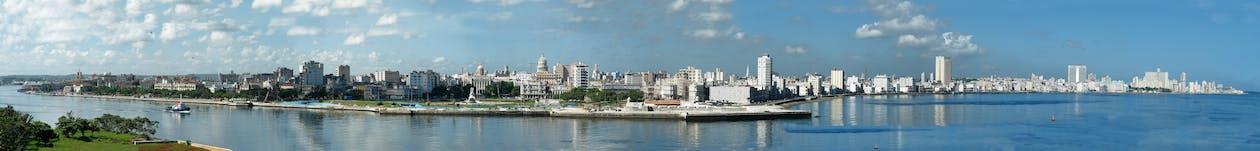 Free stock photo of panoramic cuba