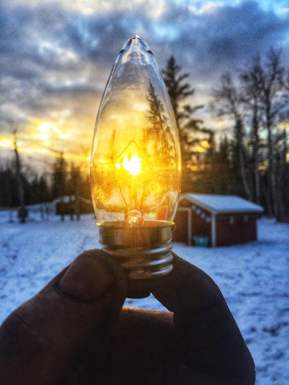 ảnh chụp, ánh sáng, bóng đèn