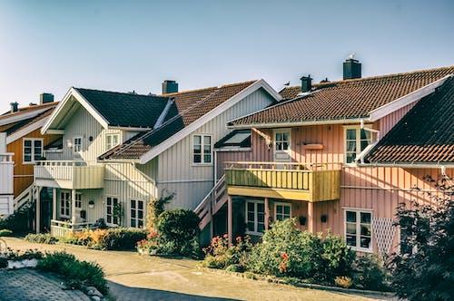 Darmowe zdjęcie z galerii z domy, dzielnica, fasada