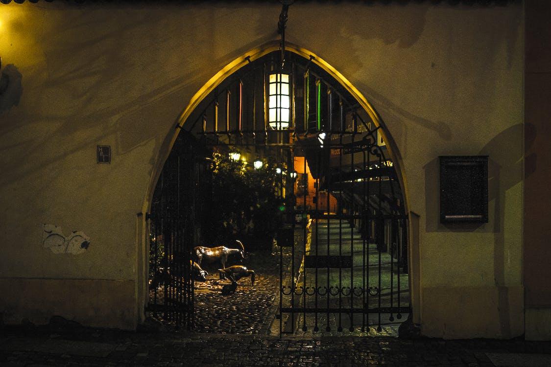 Free stock photo of breslau, dark, gate