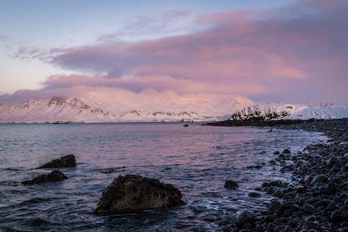 Photos gratuites de aube, baie, bord de mer