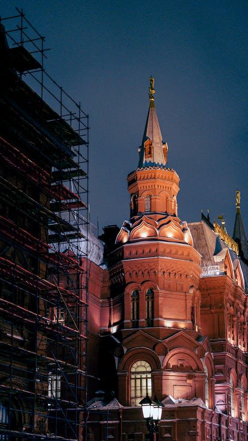 垂直拍摄, 塔, 大教堂 的 免费素材图片