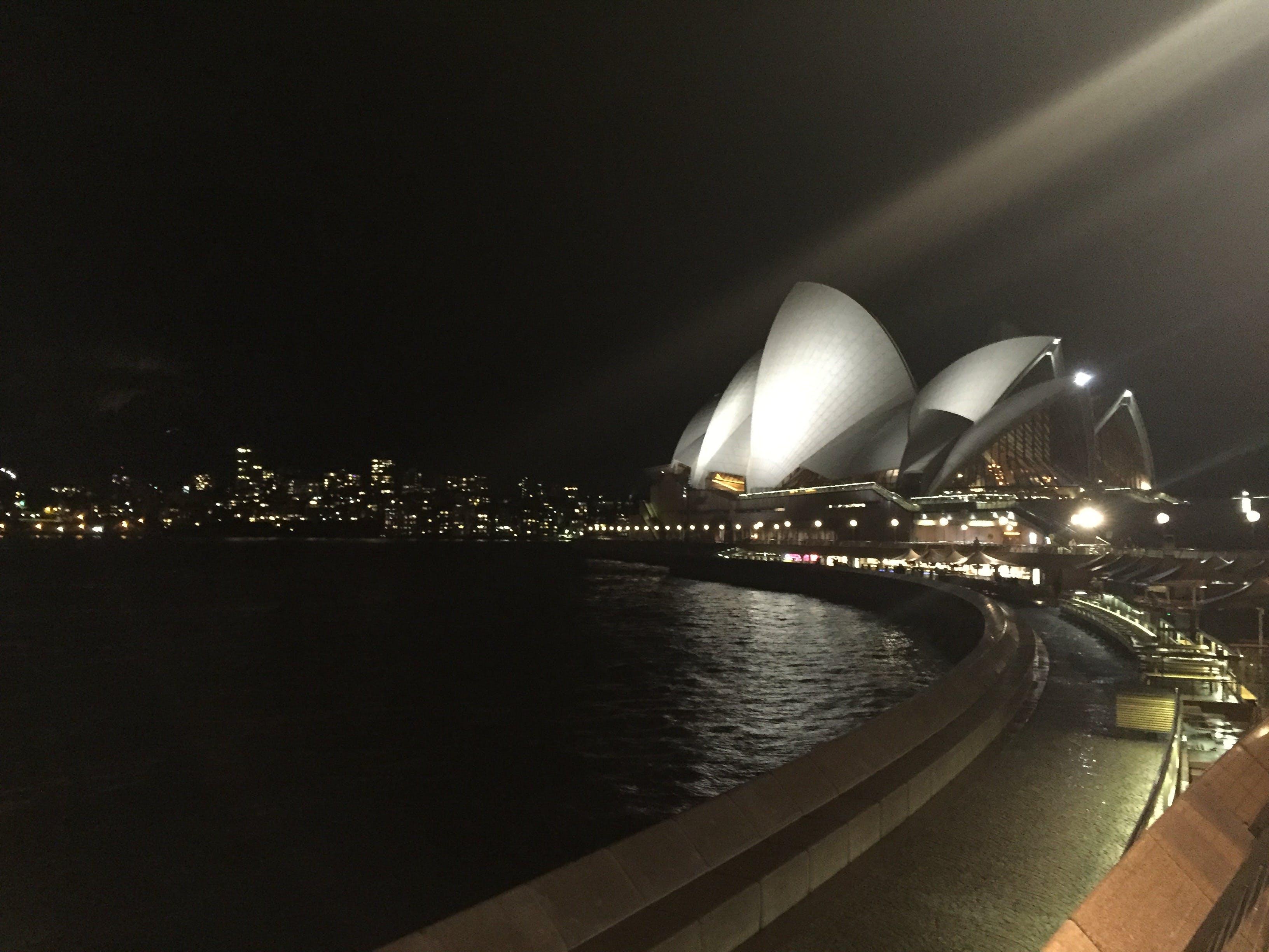 Kostenloses Stock Foto zu australien, sydney opera house bei nacht