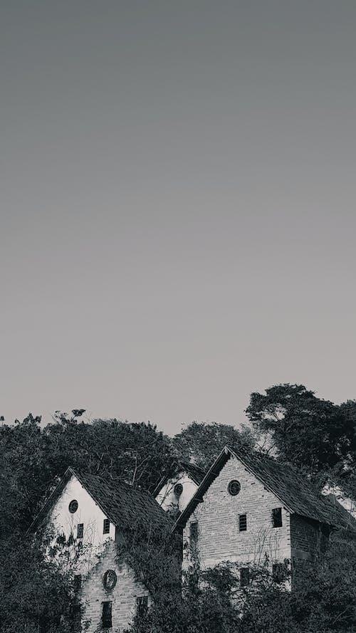 Foto profissional grátis de arquitetura, céu, papel de parede